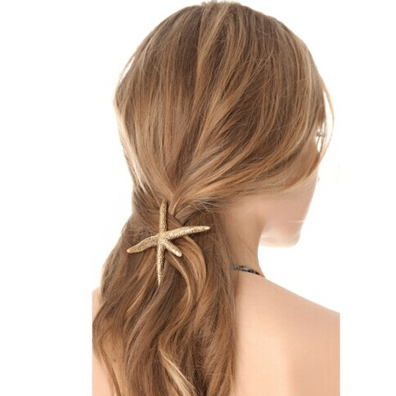 Fashion Women's Jewelry Starfish Hair Clip