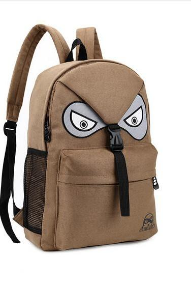 Fashion Unisex Cute Cartoon Owl Outdoor Sports Casual Student School Backpack